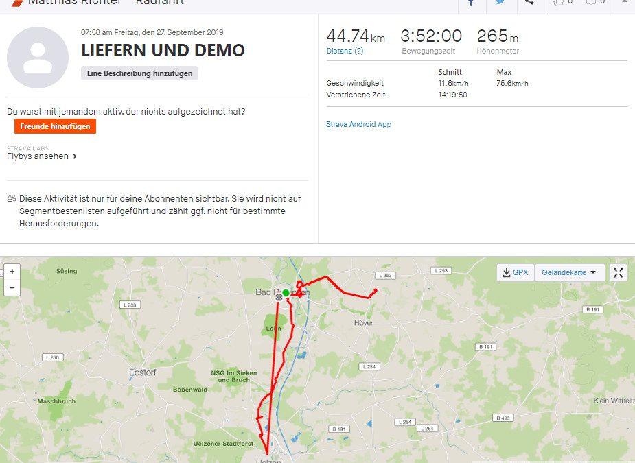 1064 Km und 3150 Impfungen – Spenden-Liefer-Marathon beendet