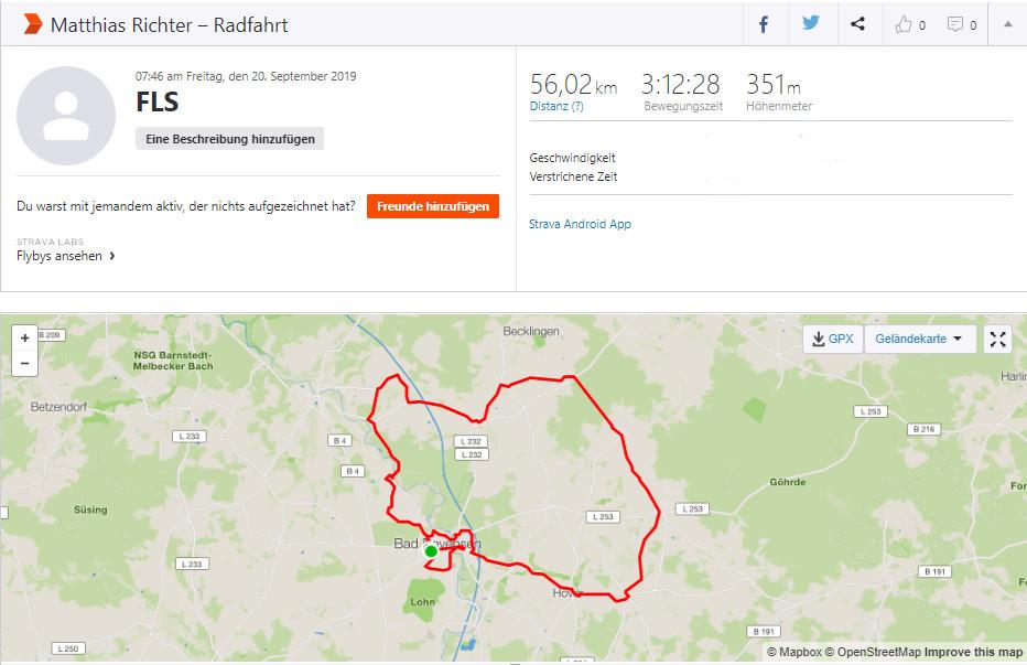 Spenden Liefer Marathon Tag 14 – 785 km / 196,25 Euro