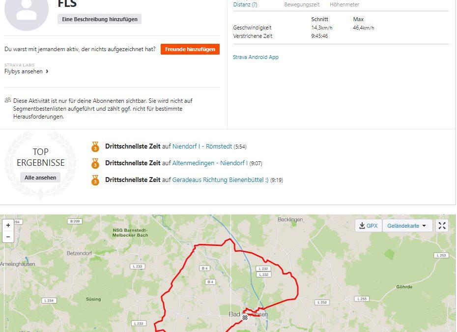 Spenden Liefer Marathon Tag 16 – 910 km / 227,50 Euro