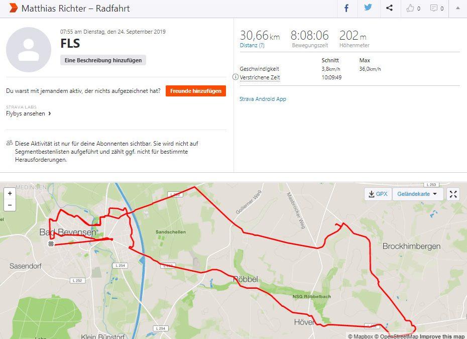 Spenden Liefer Marathon Tag 17 – 940 km / 235 Euro