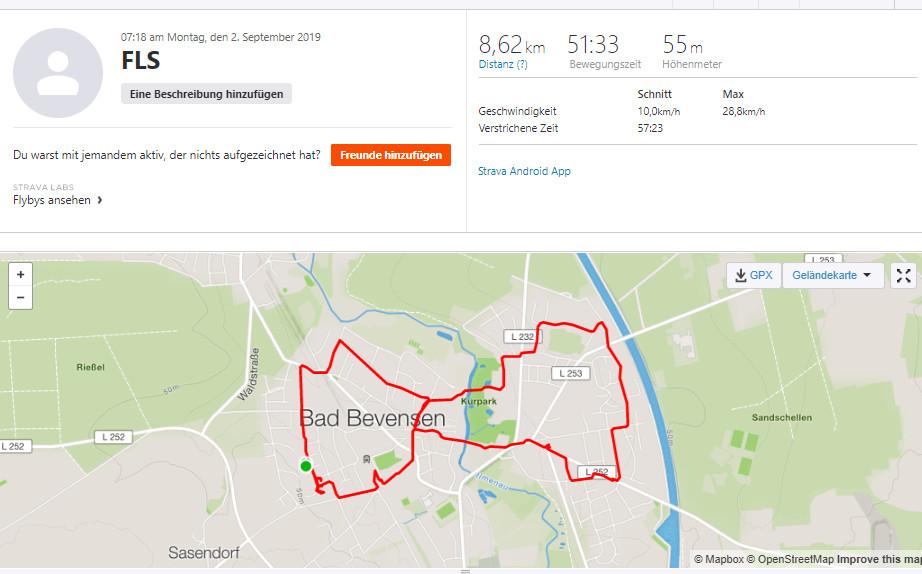 Spenden Liefer Marathon Tag 2 – 129 km / 32,25 Euro