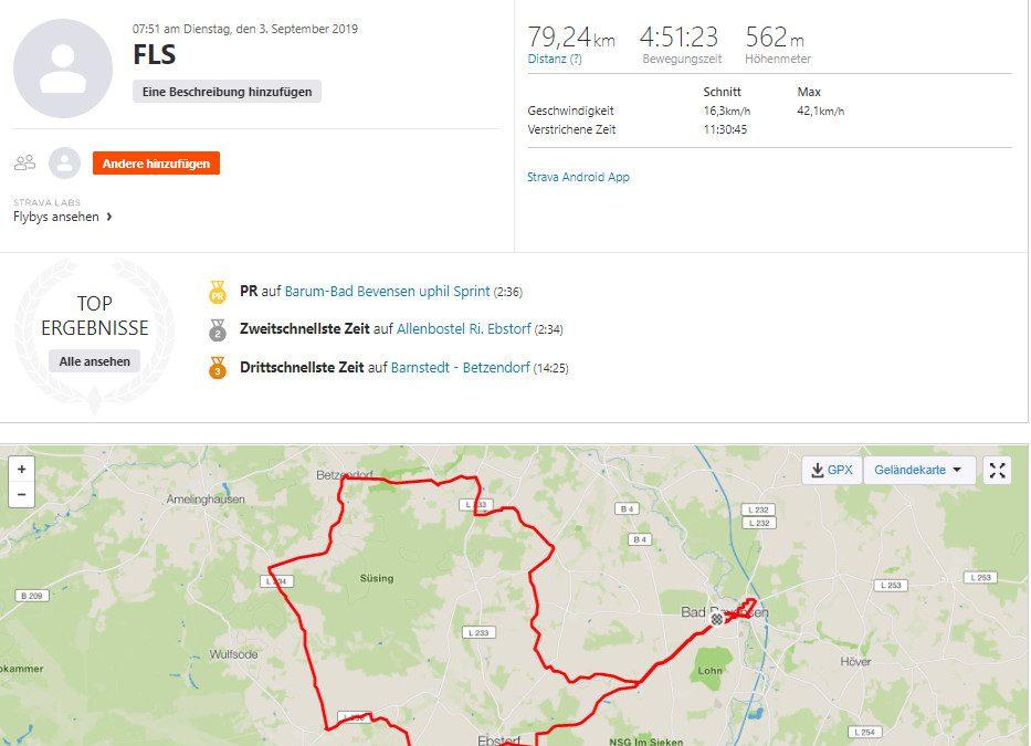 Spenden Liefer Marathon Tag 3 – 209 km / 52,25 Euro