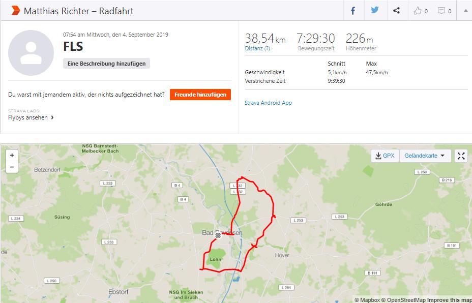 Spenden Liefer Marathon Tag 4 – 247 km / 61,75 Euro