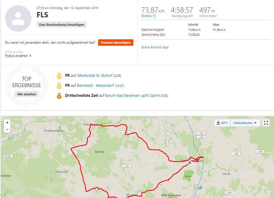 Spenden Liefer Marathon Tag 8 – 430 km / 107 Euro